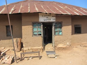 Hospital in rural Katanga province, DR Congo